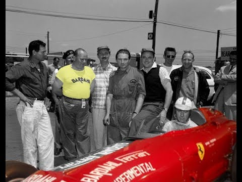 Ferrari Experimental with Bardahl - IndianaPolis 500 - 1956 - Nino Farina -