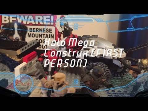 Halo Mega Construx (FIRST PERSON) Interactive (Description)