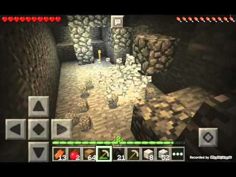 Minecraft pe survival world part 4 HOW RARE IS IT?
