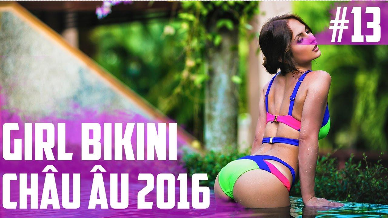 Hình Ảnh Gái Đẹp   Gái Bikini Châu Âu 2016   Part 13