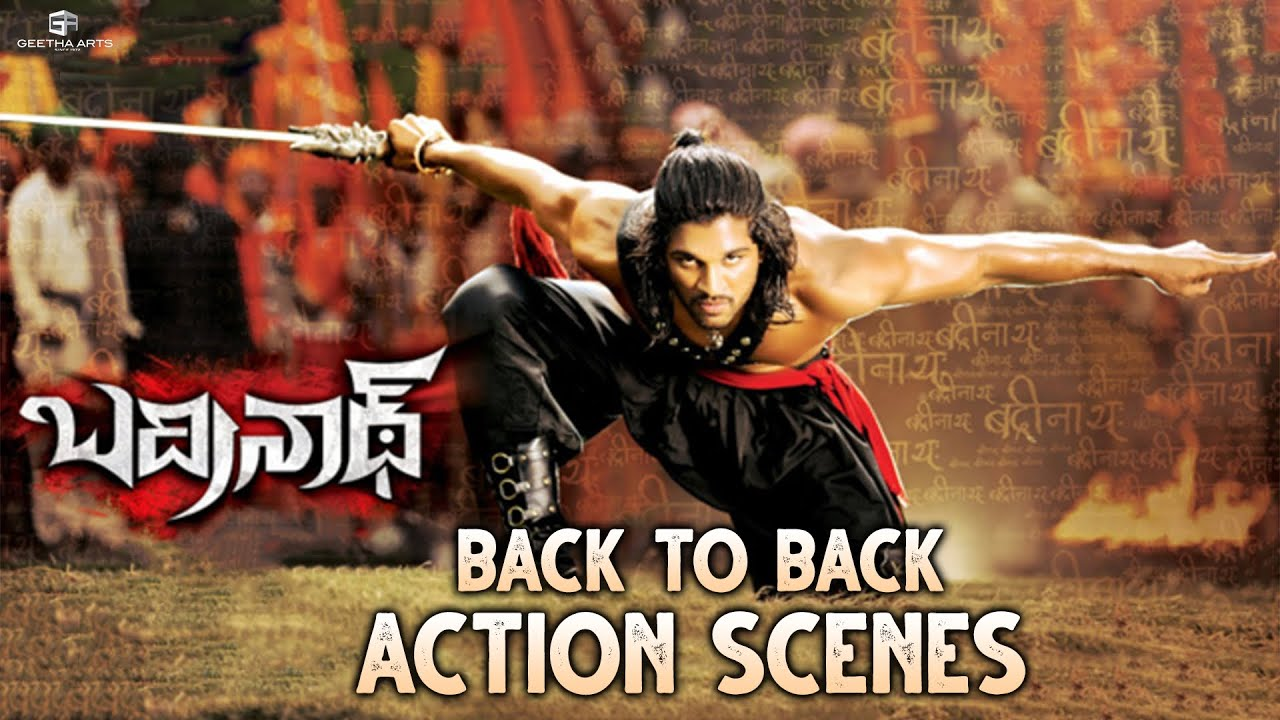 Download Badrinath Action Scenes | Back To Back | Allu Arjun, Tamannaah | VV Vinayak | MM Keeravani