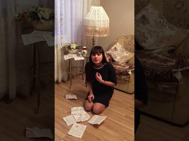 Изображение предпросмотра прочтения – «ЛИК» читают произведение «Она сидела наполу…» Ф.И.Тютчева