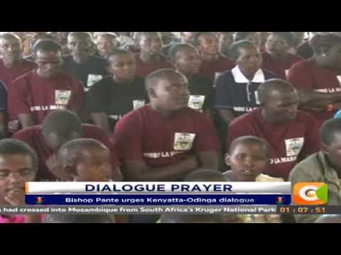 Maralal Catholic Bishop call for dialogue between Uhuru and Raila