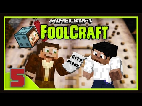 FoolCraft Part 5: City Planning And Learning To Poop With BdoubleO