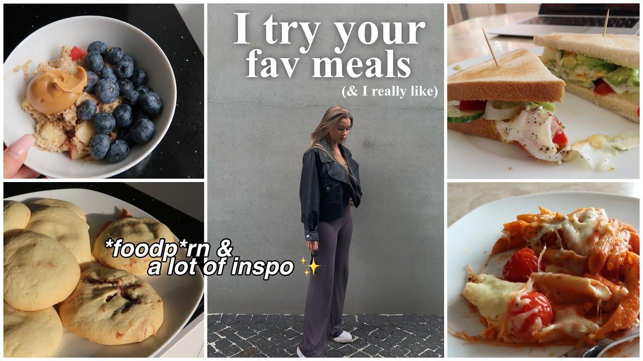 Ich teste die liebsten Rezepte meiner Follower (so delicious!!): food inspo incoming  -annso