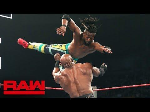 Seth Rollins & Kofi Kingston Vs. Baron Corbin & Bobby Lashley – No DQ Match: Raw, May 20, 2019