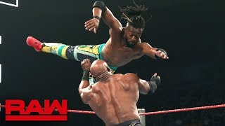 Seth Rollins & Kofi Kingston vs. Baron Corbin & Bobby Lashley - No DQ Match: Raw, May 20, 2019