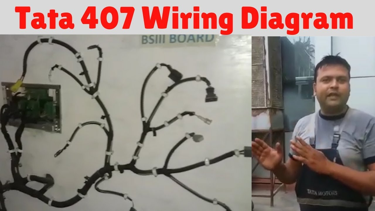 Tata 407 Wiring Diagram Faheem Khan Tata Motors Youtube