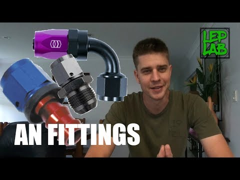 AN Fitting Sizes Explained