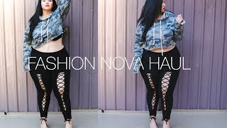 PLUS SIZE FASHION TRY ON HAUL | Fashion Nova Time! Jeans, Dresses, Rompers & More!