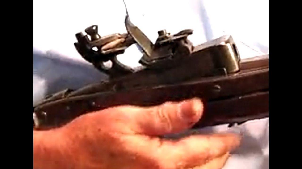 The U S  Model 1819 Hall Breechloading Flintlock Rifle