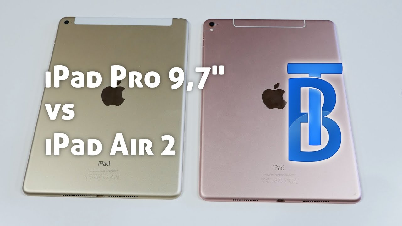 ipad air 2 vs ipad pro 9 7 lohnt es sich 4k youtube. Black Bedroom Furniture Sets. Home Design Ideas