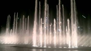 Burj Khalifa Fountain Dubai @Thriller Michael Jackson HD