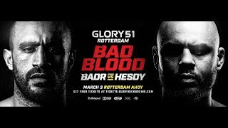 GLORY 51 Rotterdam: Official Weigh-Ins Video
