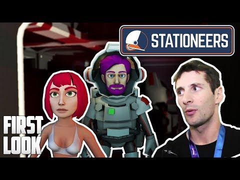 Stationeers — First Look — Dean Hall's (DayZ Mod Creator) NEW Game!