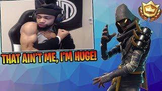 "Daequan Explains Why The *NEW* ""Cloaked Star"" Skin Is NOT Him! - Fortnite Funny & Epic Moments"