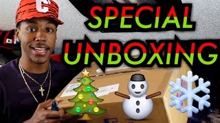 Special Gift Unboxing From @Finishline