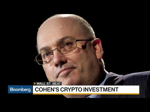 Steven Cohen Said to Make Hedge Fund Investment Into Cryptocurrency