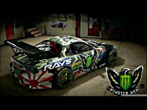 Monster Army Mazda Rx7 - Need for speed 2015