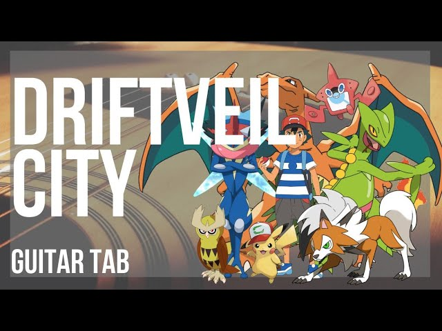 Guitar Tab How To Play Driftveil City Pokemon By Hitomi Sato Youtube The city has a large market where numerous rare items can be found and purchased. guitar tab how to play driftveil city