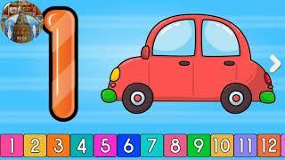 Math Kids Children to Learn #w Street Vehicles #Toys #Learn #Colors #Balls & #Magic #kids math kıds