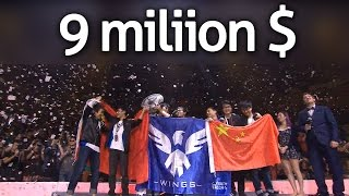 9 million $ - Wings DC - Dota 2 Ti 6 Main Event | Grand Finals