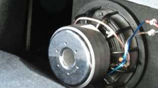 dc audio level 3 10 subwoofer t line box in a 2013 mustang