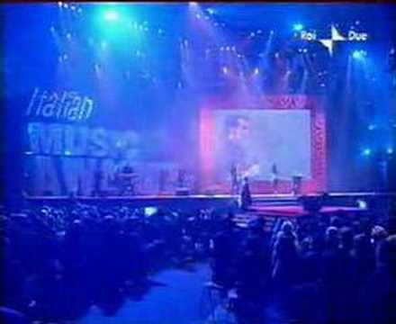 Anggun with Pelu in Italian Music Awards