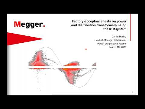 Factory Acceptance Tests On Power And Distribution Transformers Using ICMsystem By Daniel Hering