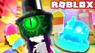 OPENING HATS AND GETTING THE SIS FRO PET!   Roblox Ice Cream Simulator