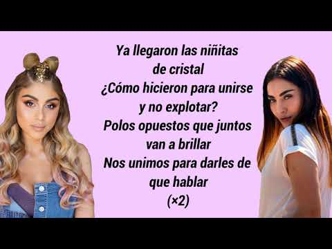 NIÑAS DE CRISTAL  ft.  PAUTIPS - LA MAFE MÉNDEZ (LETRA) LYRICS VIDEOS