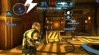 Shadowgun Deadzone | DX vs LT
