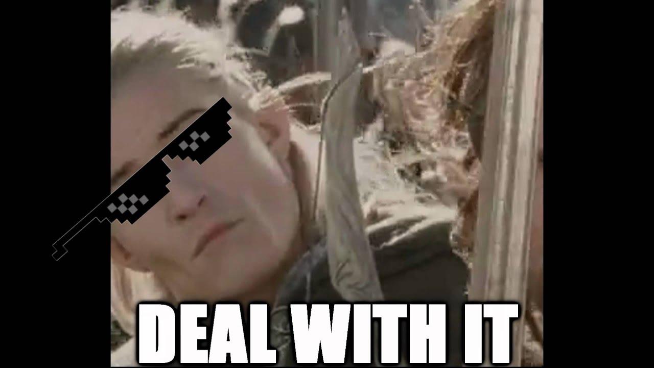 Legolas is cool as fuck