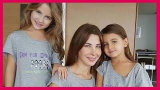 أجدد صور نانسي عجرم مع ابنتيها - إيلا وميلا - صور نانسى عجرم مع ابنتيها بمناسبة عيد الأم شبهها بشكل