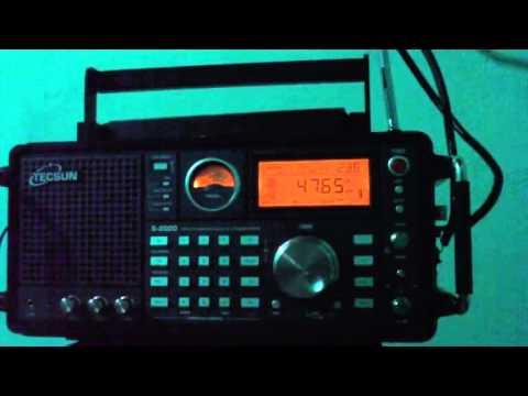 4765 kHz Tajik Radio 1 , Dushanbe - Yangiyul , Tajikistan