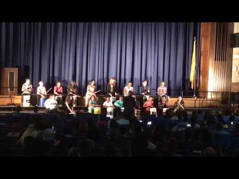 Lindenwold Middle School bucket drums