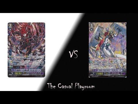 The Casual Playroom: Vanguard -  Darkness/深闇 [Dark Irregular] vs ZTB/十二支刻獣 [Gear Chronicle]