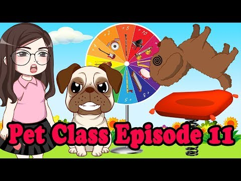 Learn musical instrument name with Bin and Bon | Pet's Class 011 | Tho Nguyen Animation