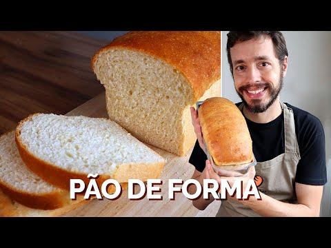 PÃO DE FORMA CASEIRO | Receita do Amo Pão Caseiro