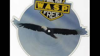 W.A.S.P - Forever Free (Slow Version) 45RPM Vinyl Played at 33RPM