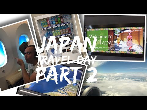 Japan Vlog - May 2017 - Days 1 and 2 - Travel Day Part 2 - Landing in Tokyo and exploring