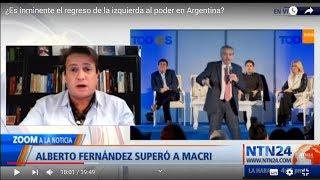 ¿Regresa la izquierda en Argentina? debate de Nicolás Márquez en NTN24