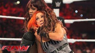 Becky Lynch vs. Alicia Fox – Beat the Clock Challenge: Raw, Aug. 31, 2015