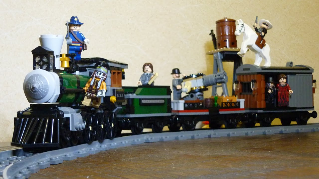 Lego The Lone Ranger Constitution Train Chase 79111 Hd