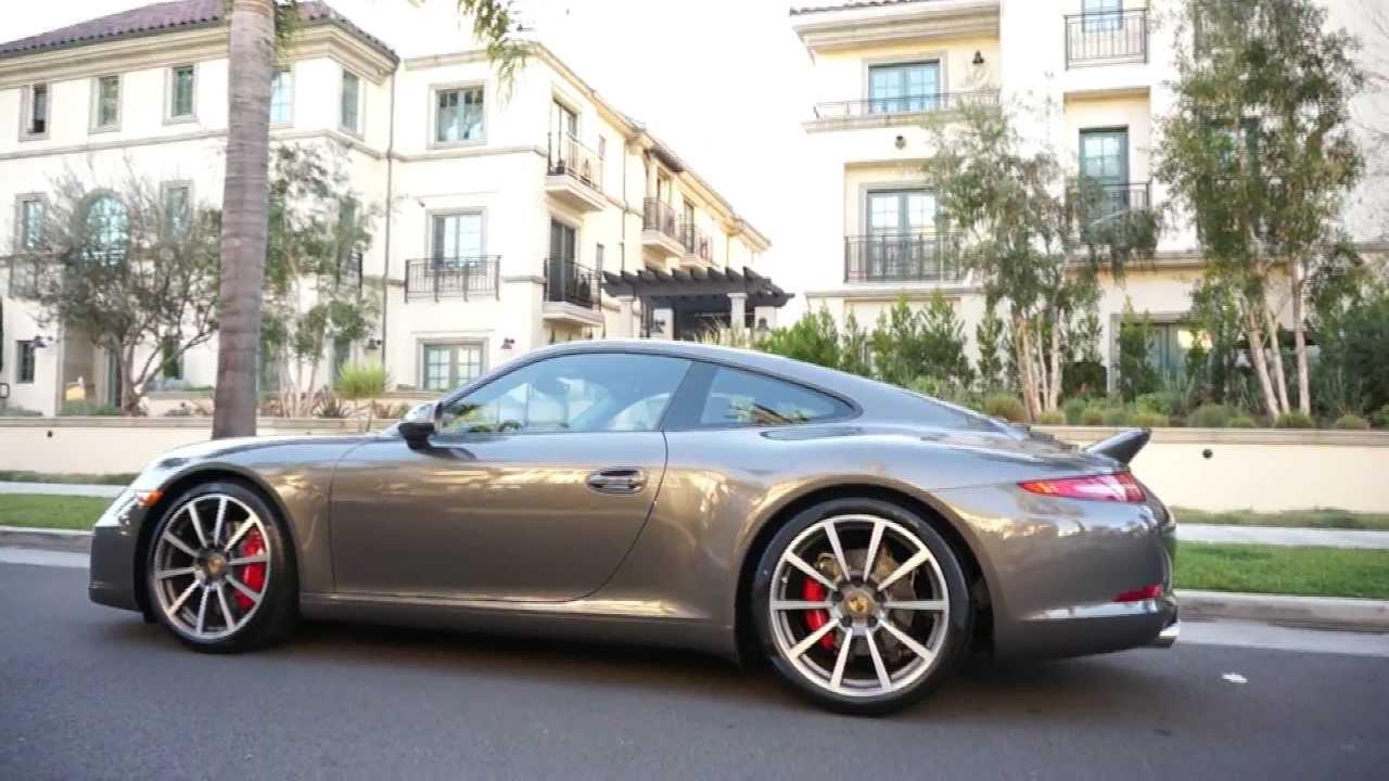 2013 Porsche 911 Carrera S 991 Sport Design Ducktail Glass Roof In Beverly Hills Youtube Youtube