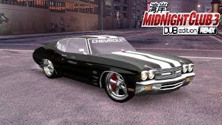 Chevelle SS Estilo DUB em Detroit - Midnight Club 3 DUB Edition Remix (PC Gameplay) [1080p]