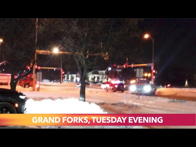 Tuesday Night Crash In Grand Forks