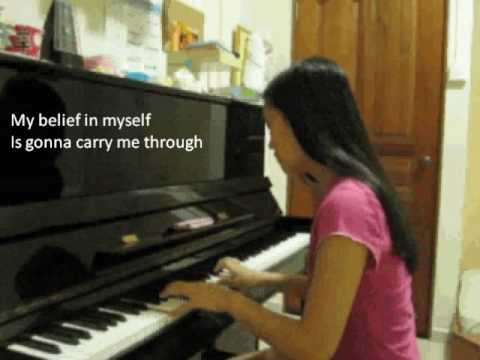 charice- in this song (piano cover)