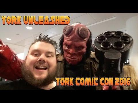 York Unleashed 2016 York Comic-Con Vlog (SuperSorrell)