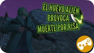 GTA V / EL HUEVO DE ALIEN PROVOCA ATAQUE DE RISA